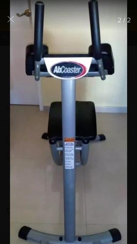 abcoaster y bicicleta estatica spinning