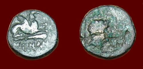 abdera, thacia. moeda grega grécia. escassa!!!!