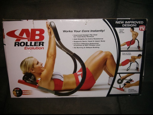 abdominales de hierro six pack training ab roller evolution