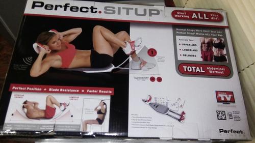 abdominales perfectos con perfect situp nuevo