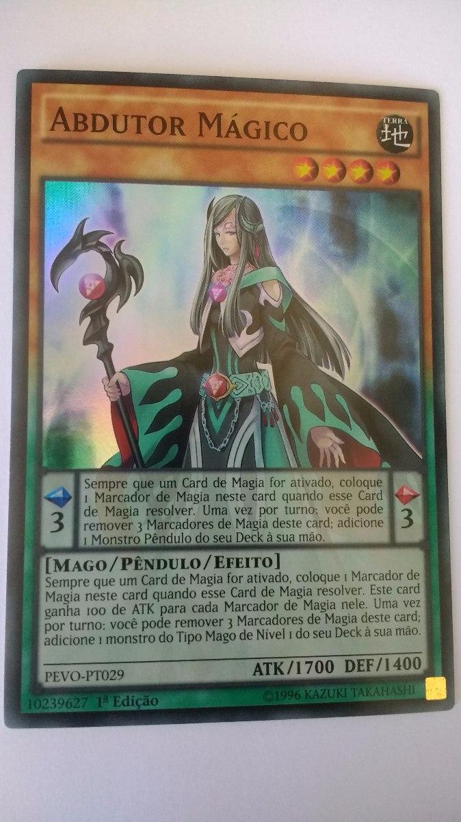 abdutor mágico pevo pt029 magical abductor super r yugioh r 2