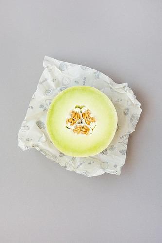 abeego , la original beeswax food almacenamiento wrap - set