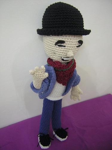 abel pintos amigurumi - muñeco tejido crochet
