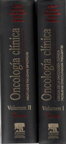 abeloff tratado de oncologia clinica 2 vol + cd - env gratis