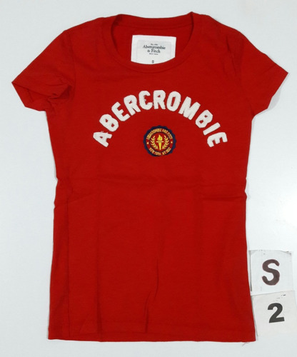 abercrombie fitch remera mujer