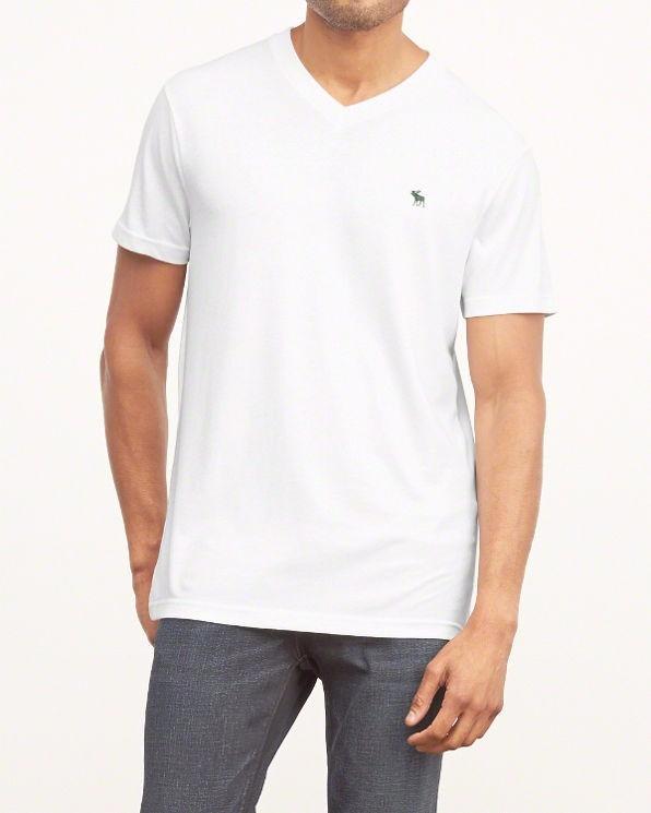 Camisas Abercrombie Cuello V