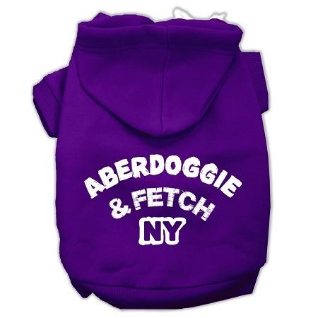 aberdoggie nueva york serigrafía sudaderas con capucha para