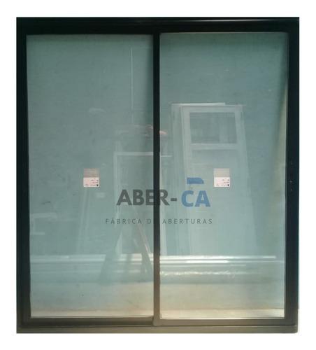 abertura aluminio ventana herrero modena a30 new vidrio dvh