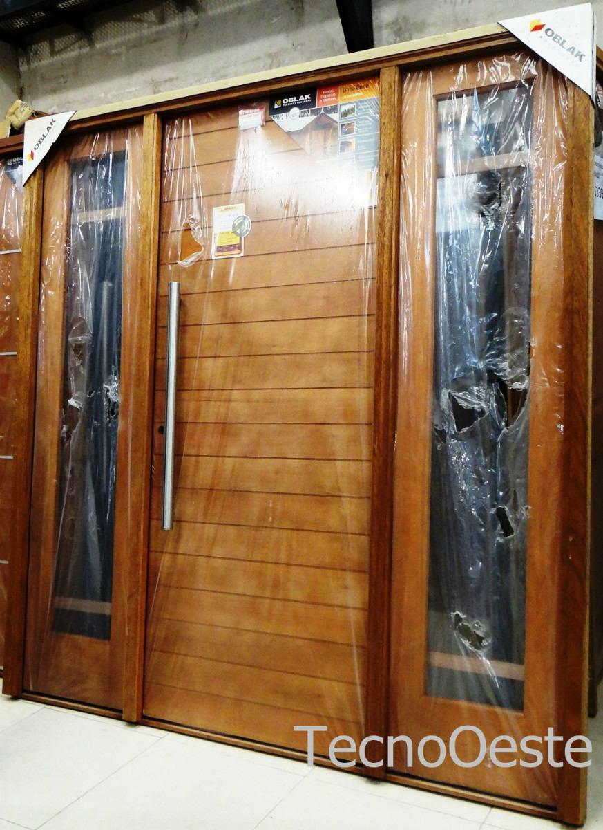Puertas dobles de madera gallery of puerta doble de for Puertas dobles para exterior