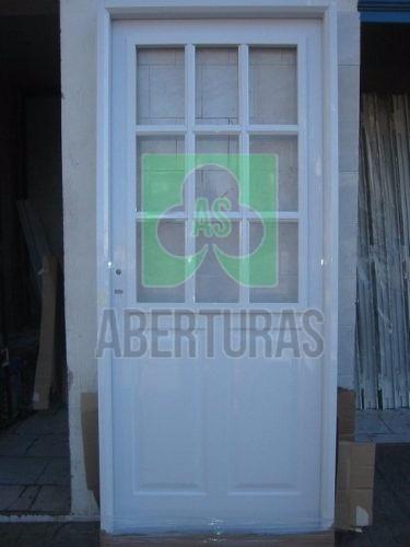 aberturas: puerta chapa