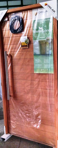aberturas puerta exterior madera