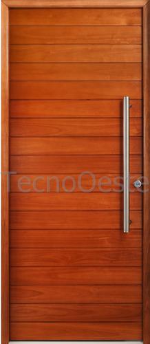 aberturas puerta exterior madera oblak grandis 2331 90x200