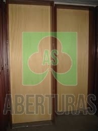 aberturas: puerta placa de pino 70x200 c/marco chapa