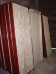 aberturas: puerta placa pino  0.70 ancho - fabrica