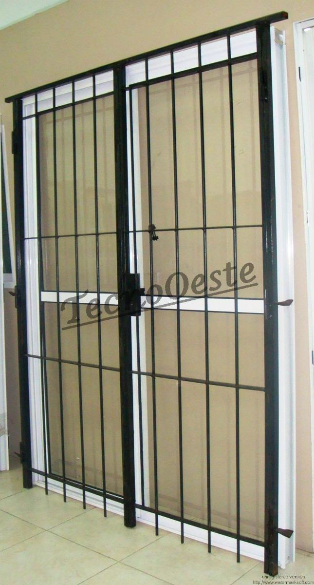 Rejas para ventanas de aluminio gallery of reja de for Ventana balcon medidas
