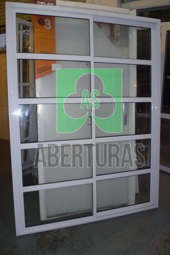 aberturas: ventana balcon alum blanco rep horizontal 200x200