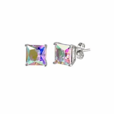 abl cz basket set stud earrings-5mm
