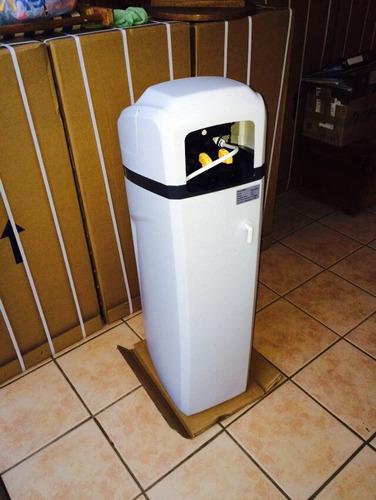 ablandador de agua 25lts resina, 2.000lts/hr regeneracion