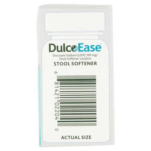 ablandador fecal dulcolax liquic geles 100ct, docusato de
