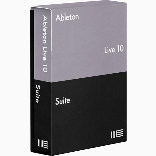 ableton 10.1 suite + 244 max for live mac win com suporte