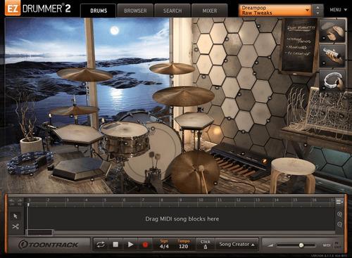 ableton live 10 + ez drummer 2 + expansiones + instalación