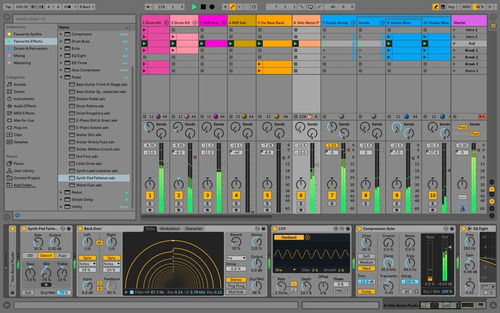 ableton live 10 suite - mac & win - versión más reciente