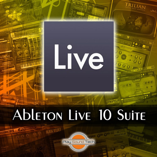 ableton live 10 suite + max for live última versión