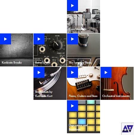 ableton live 10 suite sounds packs 74 gb pc32-64 vst