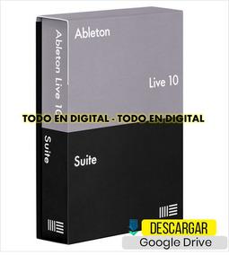 Ableton Live 10 Windows + Librerias