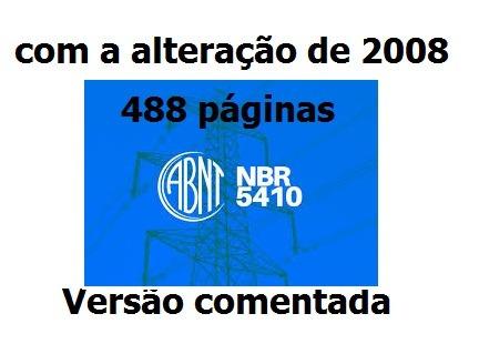 5410 BAIXAR COMENTADA NBR
