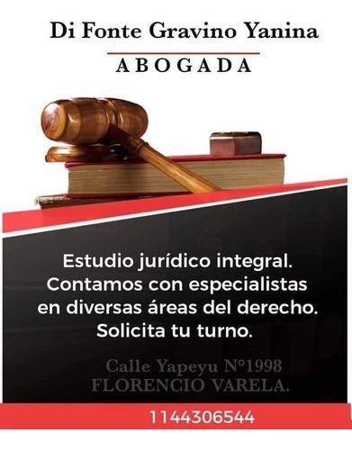 abogada en estudio jurídico d&g.