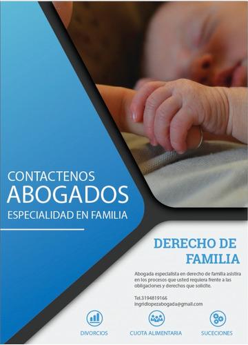 abogada especialista en familia y asunto civiles