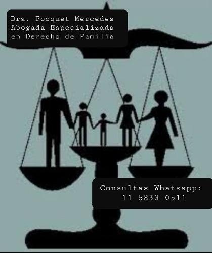 abogada especializada en derecho de familia: alimentos, etc