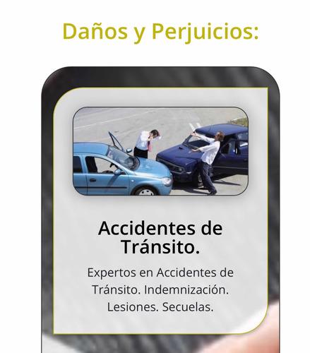 abogado accidente de transito-mala praxis-sucesion.despidos