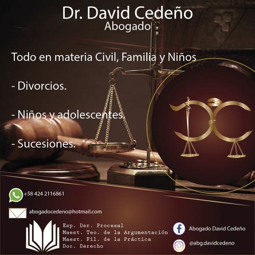 abogado divorcio niños sucesiones