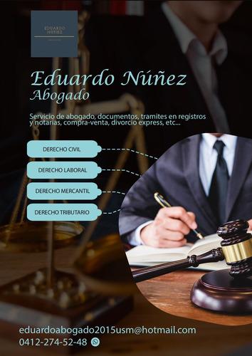 abogado en materia civil, mercantil, laboral, y tributario