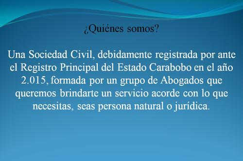 abogado en venezuela estado carabobo