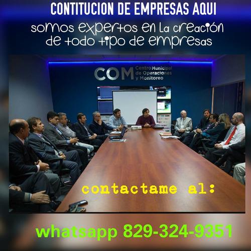 abogado experto en constitución de empresas
