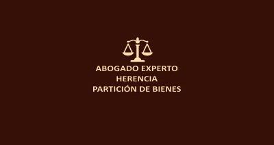 abogado experto en partición de bienes