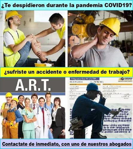abogado laboral. despidos - suspensiones - accidentes art