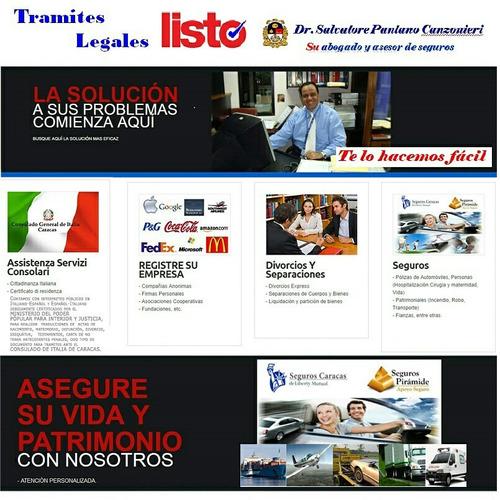 abogado legalizacion traduccion consulado italia