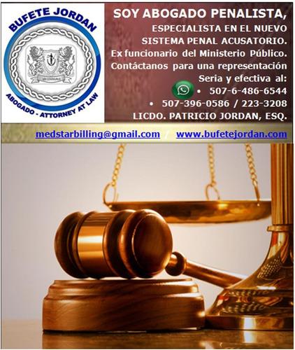 abogado penalista, sistema penal acusatorio, panama