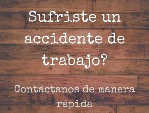 abogado (reclamos accidentes siniestros art laboral sucesion
