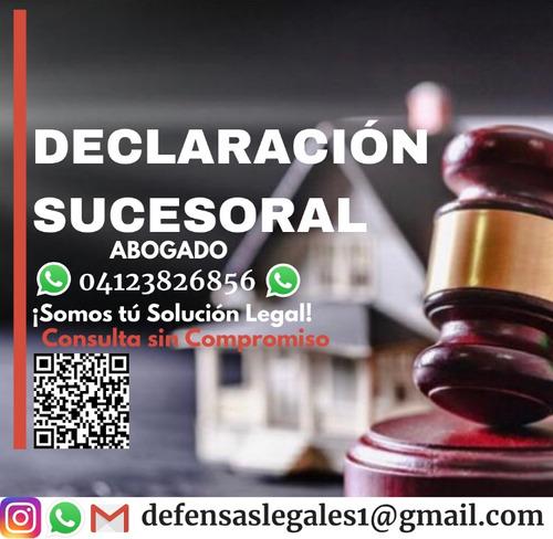 abogado sucesión declaración herencia legalización apostilla
