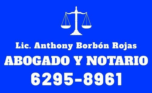 abogado y notario. 24/7 servicio a domicilio.