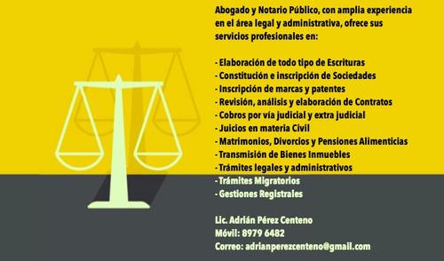 abogado y notario público
