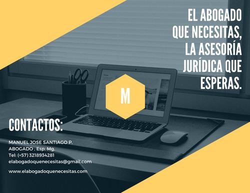abogado,asesorías legales,en dcho notarial, civil, familia.