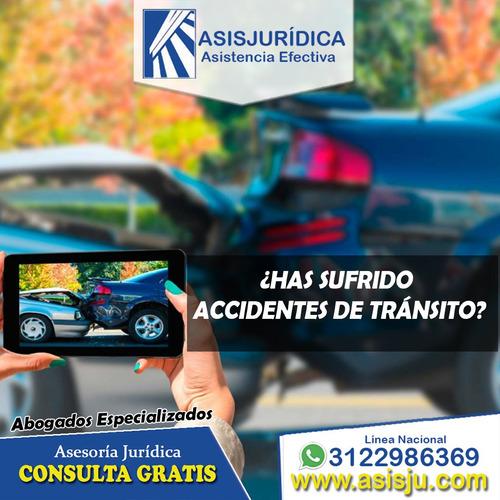 abogados asesoría en accidentes de tránsito consulta gratuit
