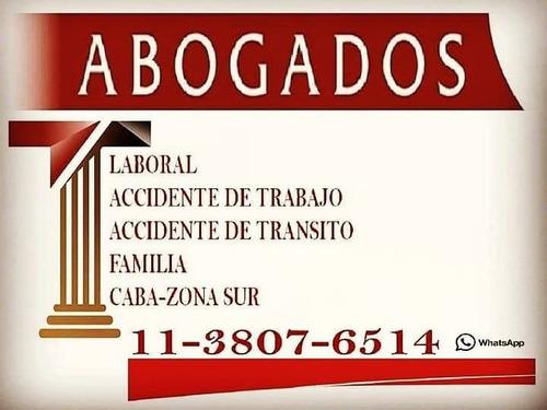 abogados asoc.  laboral / a.r.t / accidente de transito.
