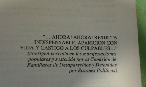 abogados desaparecidos. 1988
